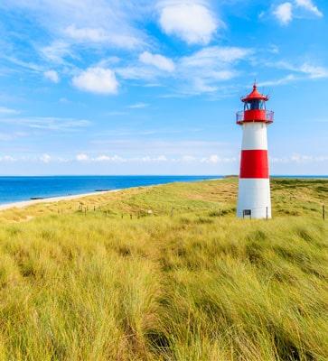 Holländische Ferienparks am Meer