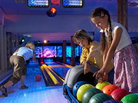 Ferienparks mit Bowlingbahn