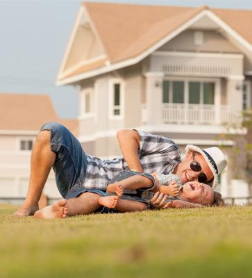 Familie Ferienpark Vater Sohn