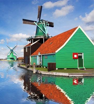 Ferienpark in Holland