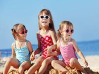 Spanische Ferienparks am Meer