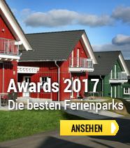Die besten Ferienparks des Jahres 2017