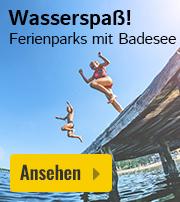 Ferienpark mit Badesee