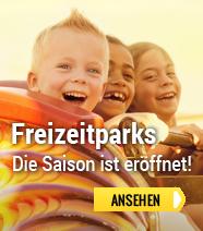 Ferienparks in der Nähe von Vergnügungsparks