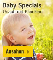 Urlaub mit Baby oder Kleinkind