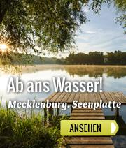 Ferienparks an der mecklenburgischen Seenplatte