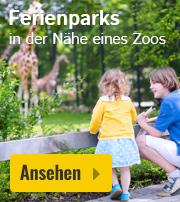 Ferienparks in der Nähe eines Zoos