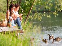 Ferienparks am Wasser