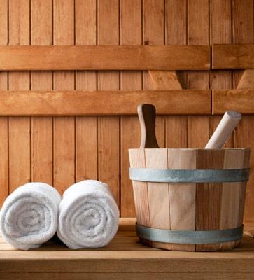 Ferienparks mit Sauna