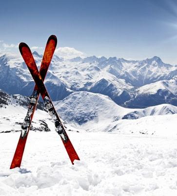 Beliebte Skiregionen in Österreich