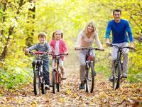Feriendörfer mit Fahrradverleih