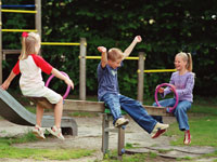 Ferienparks mit Spielplatz