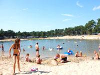 Ferienparks mit Schwimmteich