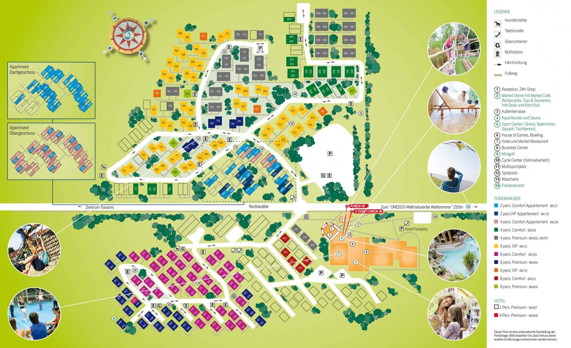 Center Park Deutschland Karte Center Parcs