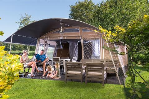 6-Personen Möbliertes Zelt Lodge deluxe