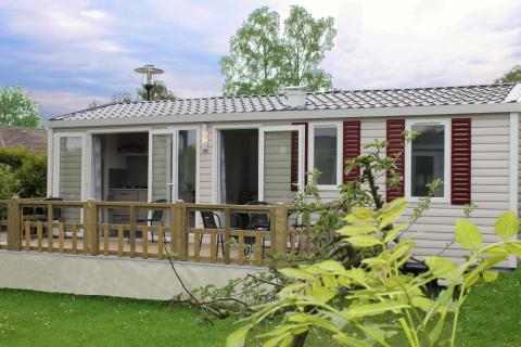 6-Personen Mobilheim/Chalet Familie Lodge