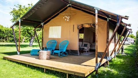 6-Personen Möbliertes Zelt Safaritent