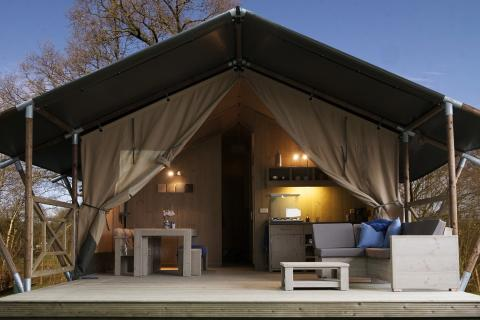 6-Personen Möbliertes Zelt Safaritent Luxe