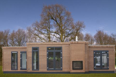 6-Personen Mobilheim/Chalet Veluwe villa met sauna