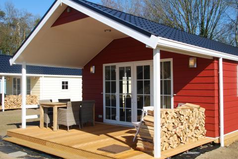 4-Personen Mobilheim/Chalet Lodge