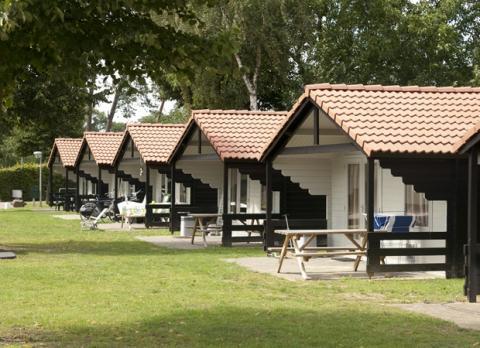 4-Personen Mobilheim/Chalet Kampeerhuisje