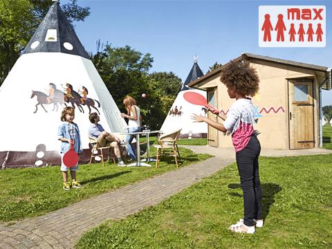 6-Personen Möbliertes Zelt (max 2 volw.) Wigwam Deluxe