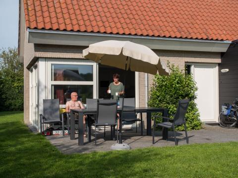 6-Personen Ferienhaus Comfort half vrijstnd