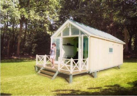 4-Personen Mobilheim/Chalet Lodge 4A